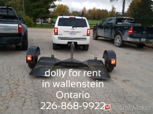 Car dolly for rent