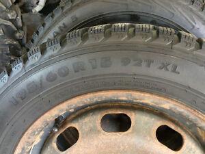 Pneus hiver roues nokian195/60R15