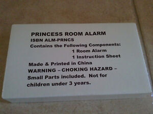Brand new in box Princess alarm lock battery operated toy London Ontario image 2