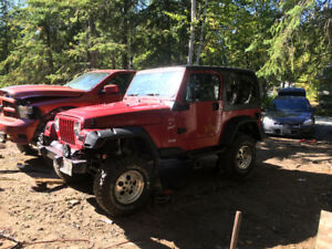 1999 Jeep TJ Coupe (2 door) Lifted