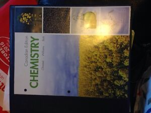 Canadian edition chemistry: Olmsted, Williams, Burk
