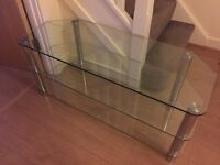 Glass tv unit - Reduced price!