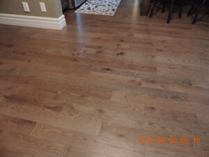 Rustic - Distressed Red Oak Hardwood flooring boards