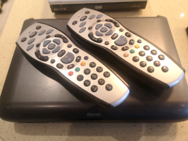 Sky HD box and two controllers