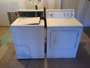 Washer and dryer pair for sale .