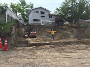 Excavation, Landscaping, Demolition, & Trucking Services Calgary Alberta image 2