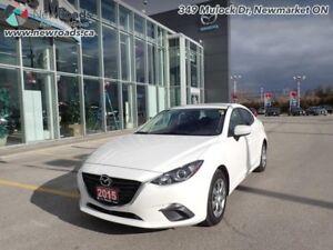 2015 Mazda Mazda3 GX - Bluetooth -  Remote Start - $98.89 B/W