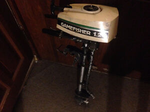 1.2 hp gamefisher outboard $280 firm