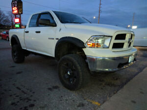 2009 Dodge Ram Lifted Truck Loaded 4x4 on 35s Rockstar Rims