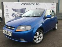 2007 CHEVROLET KALOS 1.4 SX 5 DOOR NEW MOT FULL SERVICE HISTORY LAST AT 41K HATC