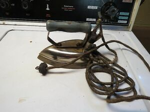 old electrical iron