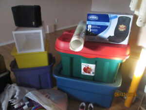 containers and tubs