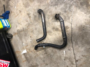 1983 Honda shadow  wiring harness/ same side exit exhaust
