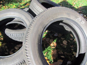 Set of Four, 175/65 R 15, M & S, Bridgestone Tires,Lots of tread Prince George British Columbia image 4
