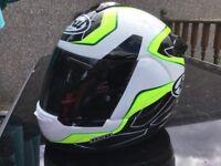 Arai Axces 3 MEDIUM Helmet in Flow Green for sale