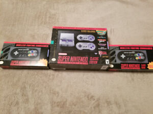 Super Nintendo Classic With Two Wireless Controllers For Sale