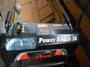 Ariens Subaru 36 commercial power brush brand new for sale