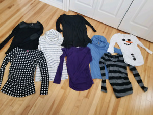 Long sleeve Maternity tops. size small.