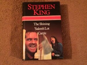 Stephen King's The Shining, Salem's Lot, Carrie Hardcover