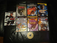 Jeux de gamecube a vendre ! Kirby air ride, zelda twilight,smash