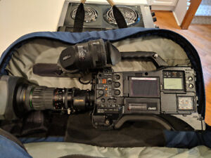 Panasonic P2 Camera with Lens for sale