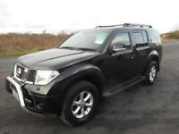 NISSAN PATHFINDER AVENTURA 4X4 DIESEL MANUAL 5 DOOR 7 SEATER 92000 MILES