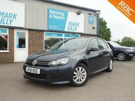 2011 Volkswagen Golf 1.6TDI ( 105ps ) Tech BLUEMOTION DIESEL ONLY 52,000 MILES