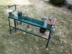 Vintage Lathe/Table saw/Scroll saw Combo