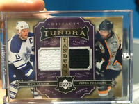 2007-08 Artifacts Tundra Tandems Metallic Purple Sundin/Forsberg