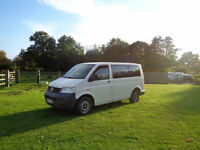 LHD LEFT HAND DRIVE Volkswagen Transporter T5 1.9TD MINIBUS 9 SEATER A/C