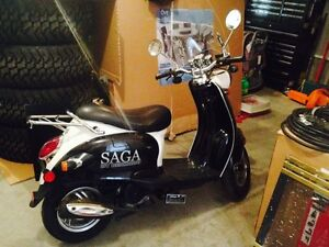 2012 saga scooter for sale