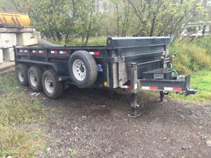 2017 load trail dump trailer