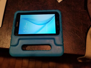 Tablet with protective kid case!