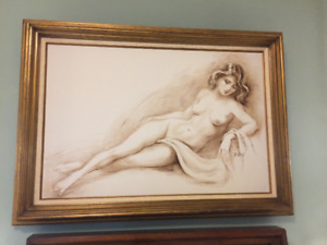 R. LASH ORIGINAL OIL PAINTING - $300.00