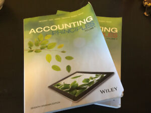 Accounting Principles Volume 1 and 2, 7th Canadian Edition