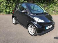 SMART FORTWO 1.0 PASSION AUTOMATIC BLACK 2 DOOR COUPE 2009