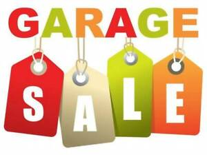 garage sale Sunday 13th