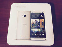 NEW HTC ONE M7 ANDROID 32GB LTE SILVER 32GB – unlocked