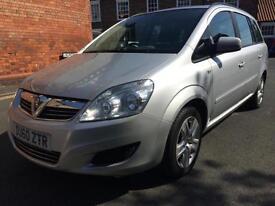 Vauxhall/Opel Zafira 1.6 16v 2010MY Exclusiv MOT Aug 17 inc 6 Month Warranty