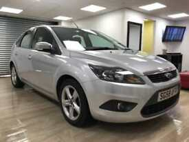 Ford Focus 1.6 Zetec SILVER BLUETOOTH SAT WARRANTY FULL SERV HIST 12 MONTHS MOT