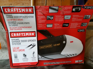Craftsman 0.5 hp Garage Door Opener