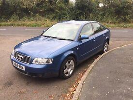 Audi A4 2.0 petrol manual 135k £800