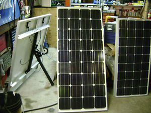 RV INSTALLATIONS FOR SOLAR ELECTRIC BATTERY CHARGING