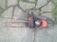 Petrol chainsaw spares or repairs