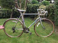 BSA Special Edition Silver Tour De France Racer Bike