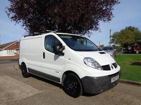 RENAULT TRAFIC 2.0 dCi ( Eco-115PS) | SWB | 1 OWNER | SAT NAV | AIR CON | 2012