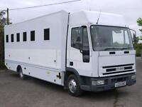 IVECO-FORD CARGO 75E15 PRISONER TRANSPORT CAGED CAMPER MOTORHOME LORRY TRUCK