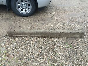 Cement Parking Curbs
