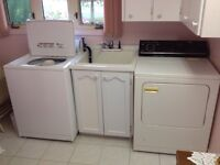 Maytag Washer and Gas Inglis Dryer