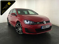 2014 VOLKSWAGEN GOLF GTD DIESEL 181 BHP 1 OWNER VW SERVICE HISTORY FINANCE PX